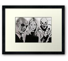 Buffy Framed Print