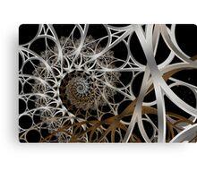 Steiner Scaffolding I Canvas Print