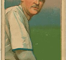 Benjamin K Edwards Collection Tim Jordan Brooklyn Superbas baseball card portrait 002 by wetdryvac