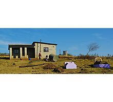 private cemetary in the Eastern Cape Photographic Print