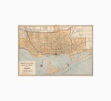 Vintage Map of Toronto (1906) Unisex T-Shirt
