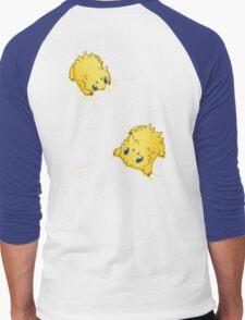 Joltik Static Cling Men's Baseball ¾ T-Shirt