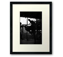 training #5 Framed Print