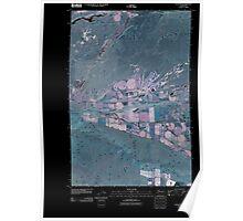 USGS Topo Map Washington State WA Taunton 20110407 TM Inverted Poster