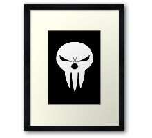 Shinigami skull two Framed Print