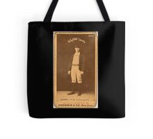 Benjamin K Edwards Collection Jerry Denny Indianapolis Hoosiers baseball card portrait 001 Tote Bag