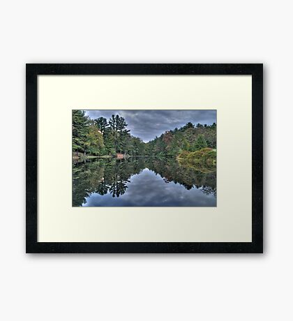 Mirror Water Framed Print