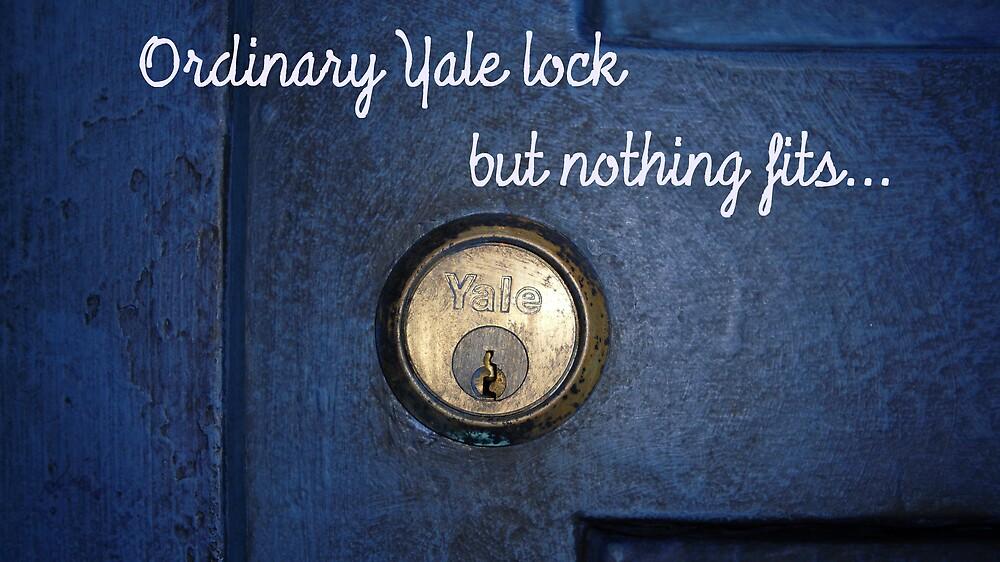 Ordinary Yale Lock... by likessheepbaa
