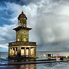 The Beach Lighthouse. by Lilian Marshall