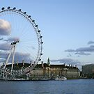 London Eye by Lennox George