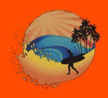 Summers surf Kids Tee