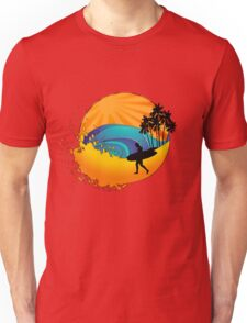 Summers surf Unisex T-Shirt