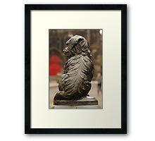 Greyfrairs Bobby in a new light Framed Print