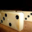 Dominoes. by JAWPhotography
