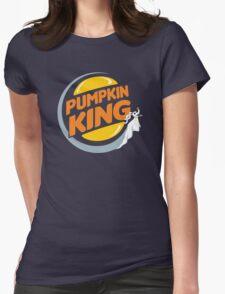 Pumpkin King Womens Fitted T-Shirt