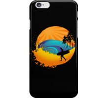 Summers surf iPhone Case/Skin