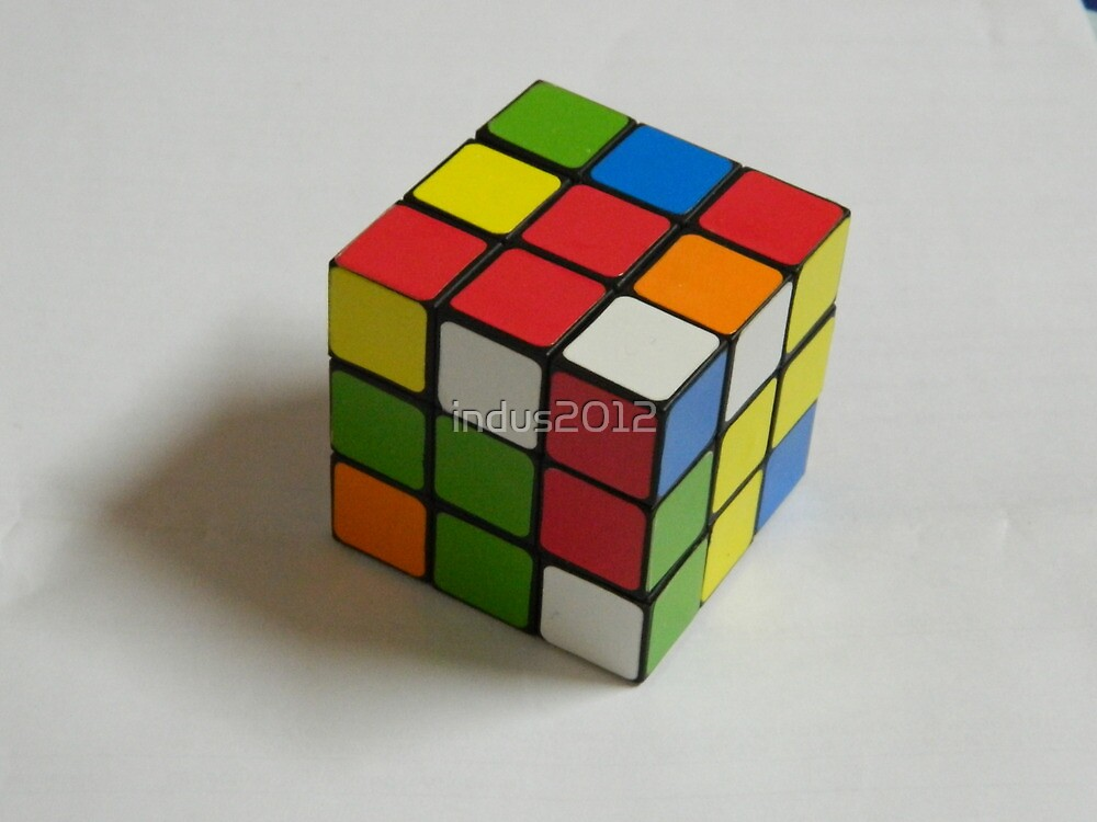 Rubik's Cube by indus2012