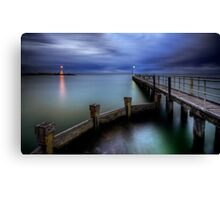 Old St Kilda Pier Canvas Print