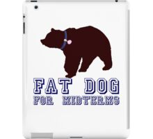 Fat Dog For Midterms iPad Case/Skin