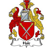 Hale Coat of Arms / Hale Family Crest Photographic Print