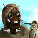 Sophisticated Sand person by SixPixeldesign