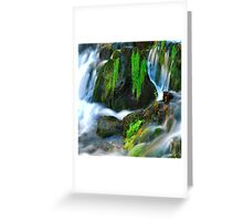 Willow River Falls 6 Greeting Card