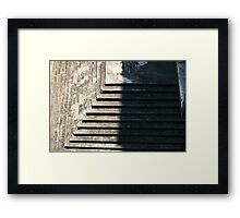 Pyramid Case  Framed Print