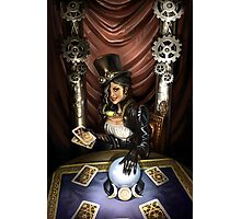 Steampunk High Priestess Photographic Print