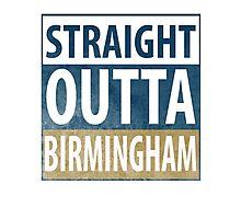 Straight Outta Birmingham Photographic Print