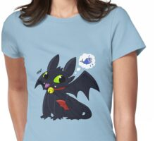 Kitty Dragon Womens Fitted T-Shirt