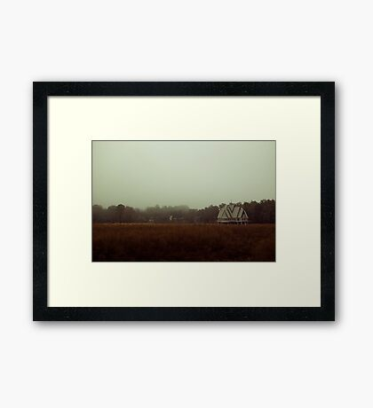 Isolation Years Framed Print