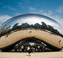 Cloud Gate by Paul Barnett
