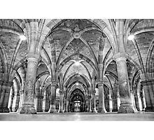 Cloisters-Glasgow University Photographic Print