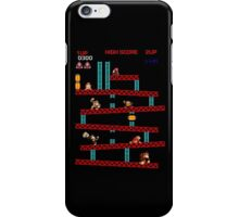 Donkey Kong through the ages iPhone Case/Skin