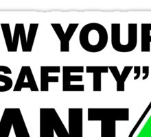 Srew Your Lab Safety, I Want Superpowers. Sticker