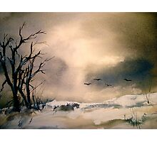 Winter Afternoon... Photographic Print