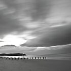 Findhorn Beach by scottalexander