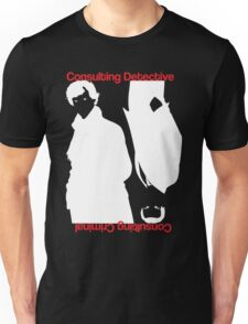 Consulting Detective, Consulting Criminal Unisex T-Shirt