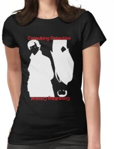 Consulting Detective, Consulting Criminal Womens Fitted T-Shirt