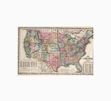 Vintage United States Map (1860) Unisex T-Shirt