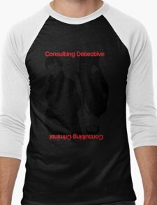 Consulting Detective, Consulting Criminal #2 Men's Baseball ¾ T-Shirt