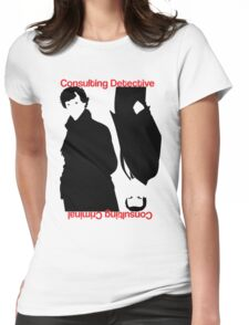 Consulting Detective, Consulting Criminal #2 Womens Fitted T-Shirt