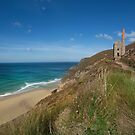 Wheal Coates tin mine St Agnes by eddiej