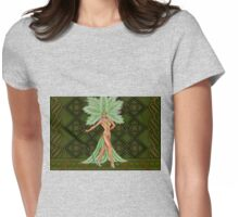 Center Stage Womens Fitted T-Shirt