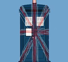 Tardis Union Jack by CoExistance