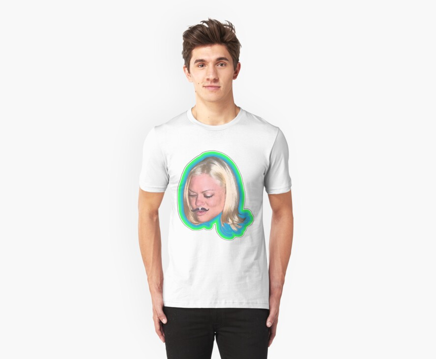 Stacy On A Shirt by DrewSomervell