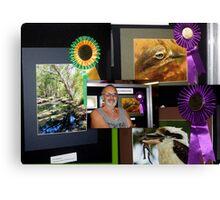 Australia Day competition win Canvas Print