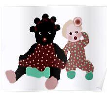 Vintage Baby Dolls Poster