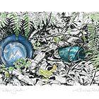 A Potter's Garden (No.2)  by Kerryn Madsen-Pietsch