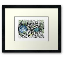 A Potter's Garden (No.2)  Framed Print